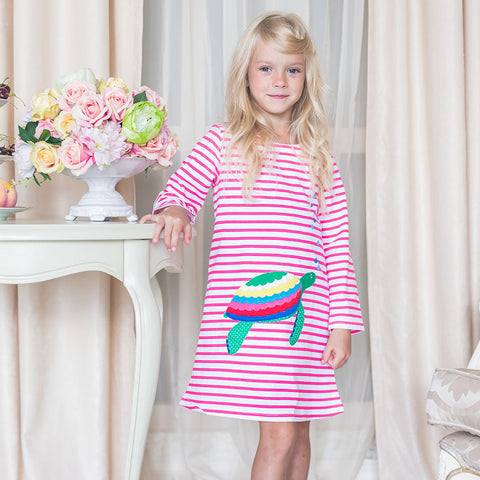 Marny - Turtle design dress