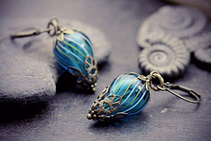 Steampunk Earrings Balloon Jewelry Hot
