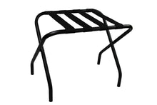 Black Suitcase Stand Luggage Rack