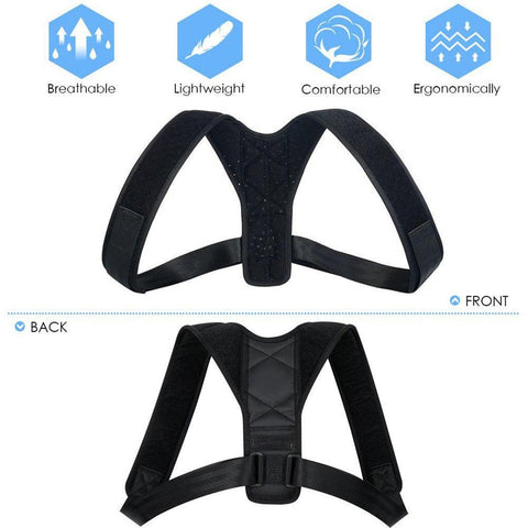 ADJUSTABLE SUPPORT BACK BRACE