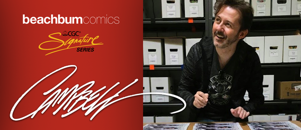 J. Scott Campbell June CGC Fan Signing Event