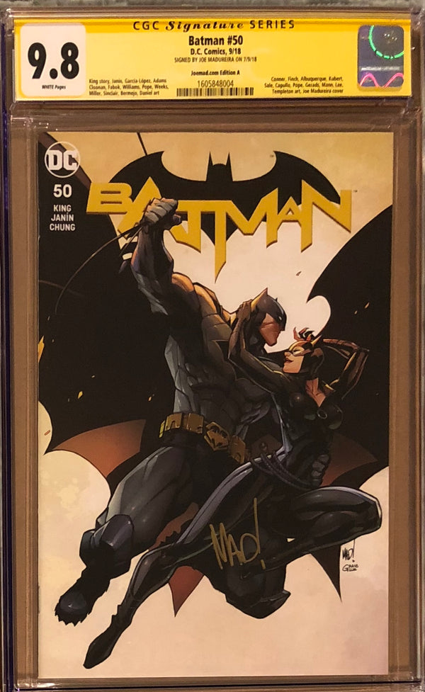 Batman #50 Joe Madureira Edition A-C Exclusive Set CGC 9.8 SS