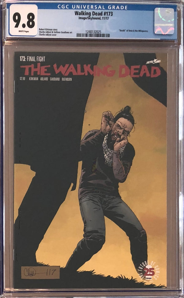 The Walking Dead #173 CGC 9.8