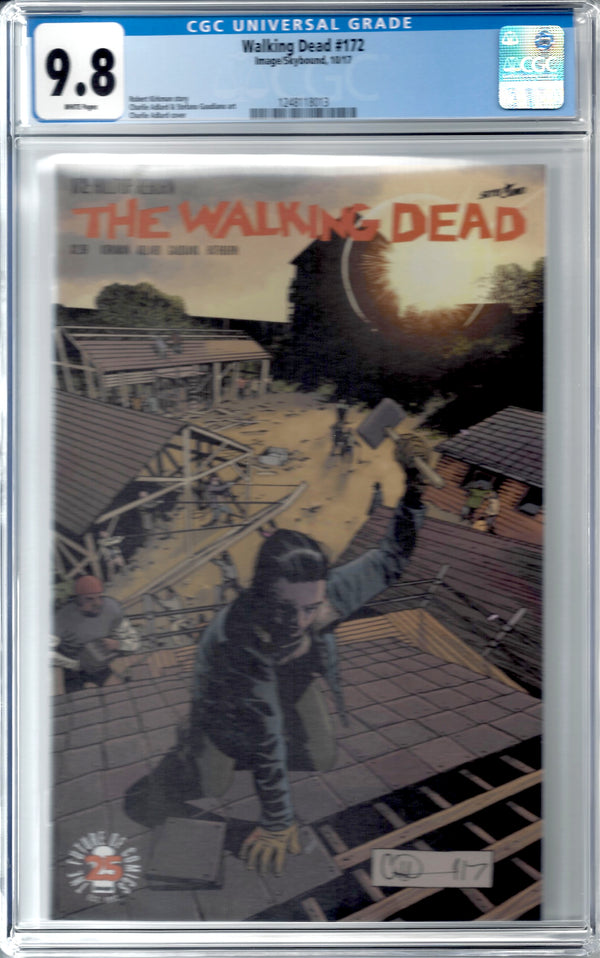 The Walking Dead #172 CGC 9.8