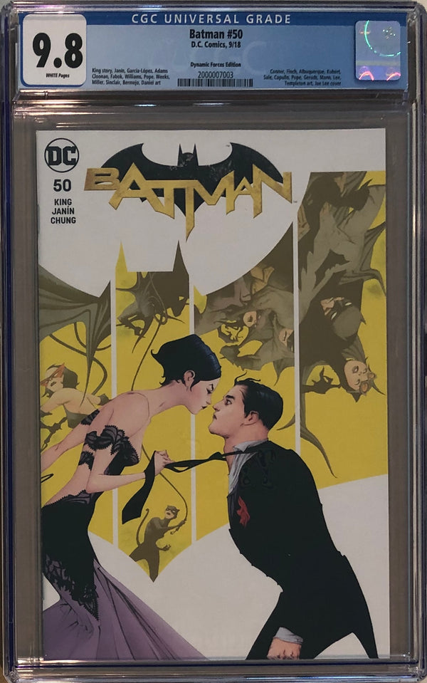 Batman #50 Dynamic Forces Jae Lee Variant CGC 9.8
