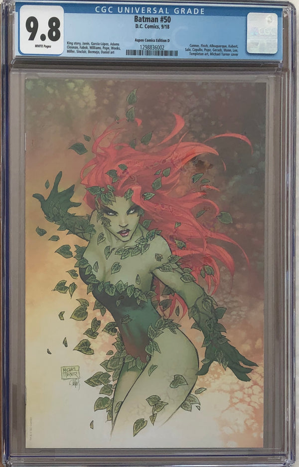 "Batman #50 Aspen Comics Turner ""Green With Envy"" Variant Edition D CGC 9.8"