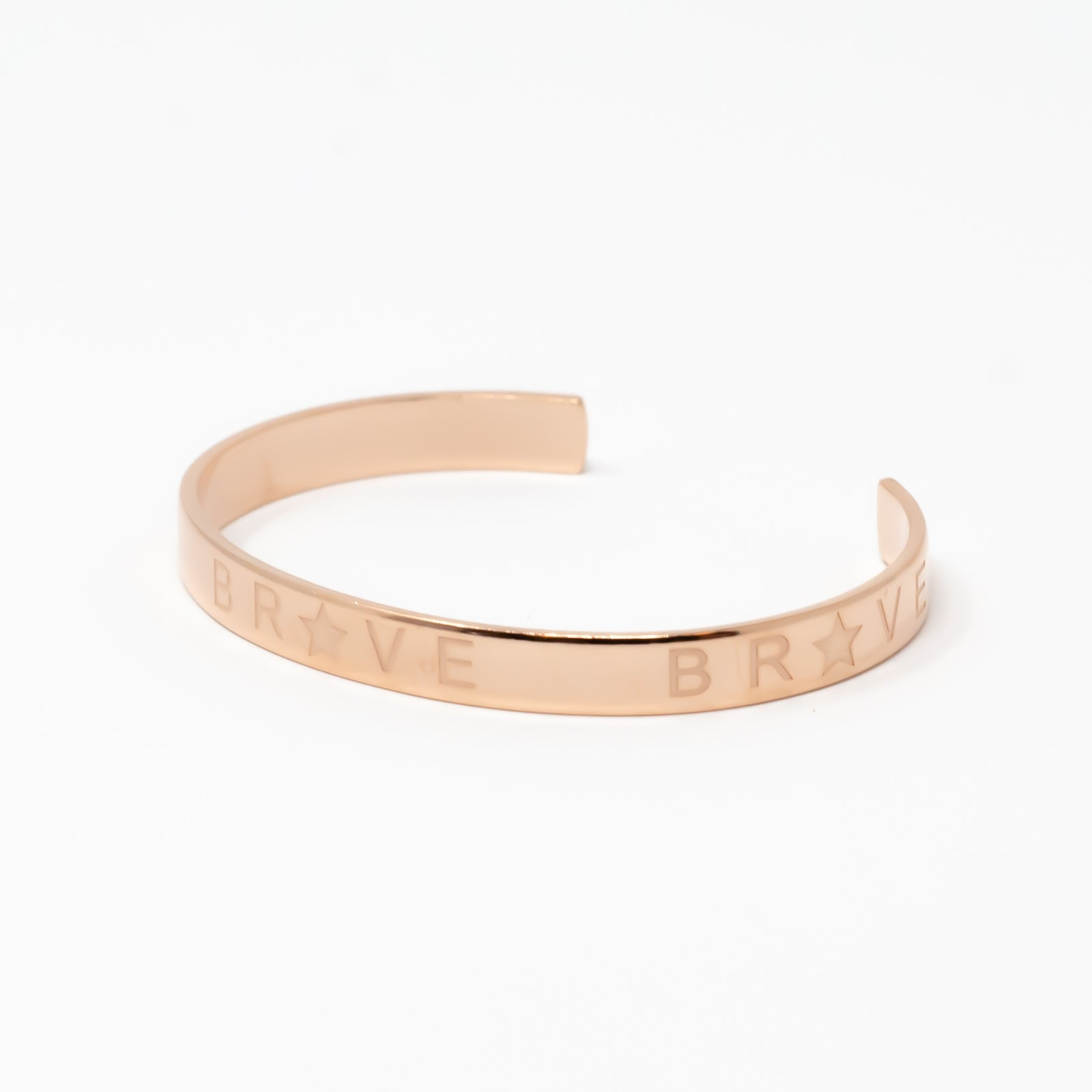 Bravery Band Rose Gold