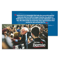 Bernie 2020 Campaign Literature in English (10 Pack)