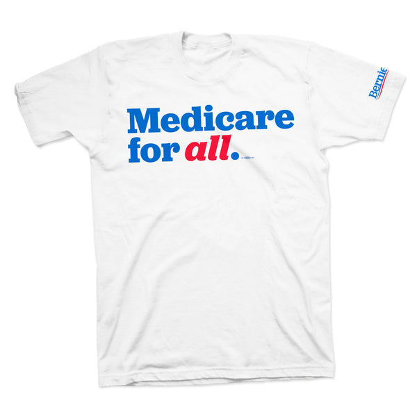 Medicare for All Tee - White