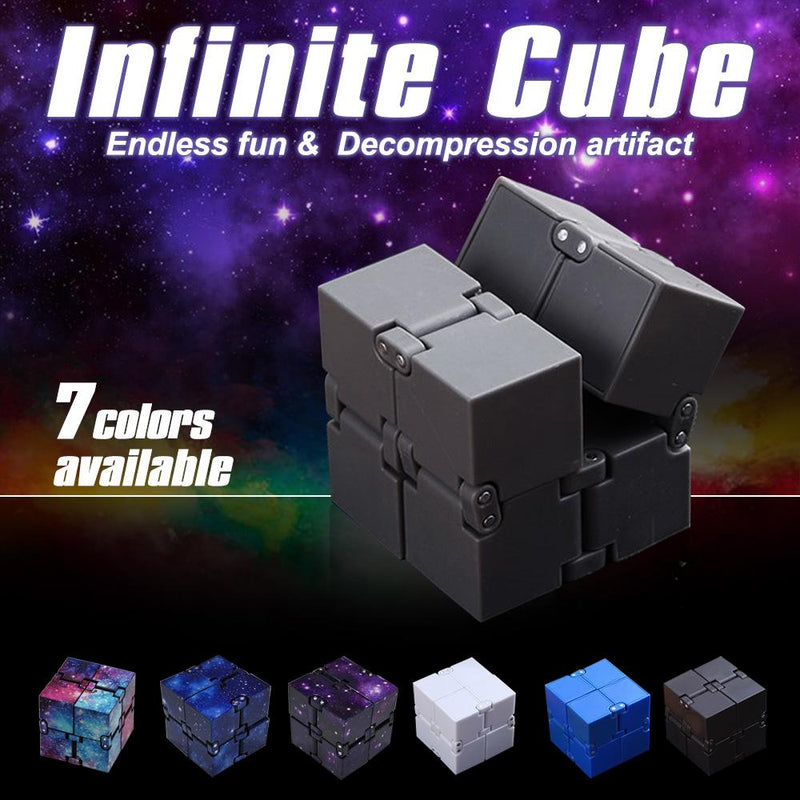 Infinity Cube for Releasing Pressure