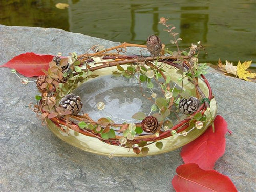 Grapevine Candle Ring