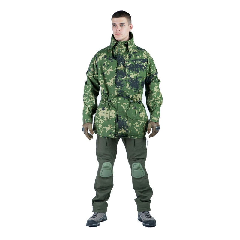 Tactical Camouflage Field Jacket - ATACS-FG Pattern