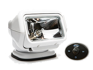 Stryker Halogen 12 Volt Light With Wired Dash Remote