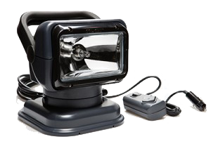Golight Halogen 12 Volt Light With Handheld Wired Remote