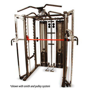 Inspire SCS Power Rack Cage with Optional Pulleys and Smith Bar Attachment