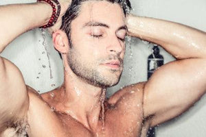 using mens grooming products in the shower beau brummell
