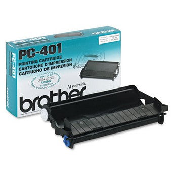 Brother PC-401 Black Thermal Ribbon