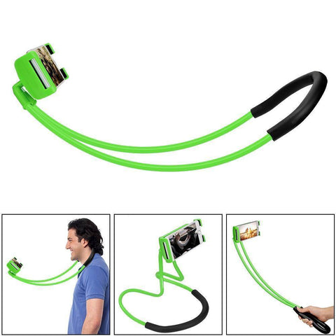 Image of 360 Degree Rotation Lazy Bendable Flexible Neck Phone Holder - iPhone Android Tech Accessories Gadget Monkey