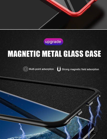 Magnetic Absorption Phone Case for For Samsung Galaxy S9 S8 Plus S7 Edge Note 9 8 Tech Accessories Gadget Monkey