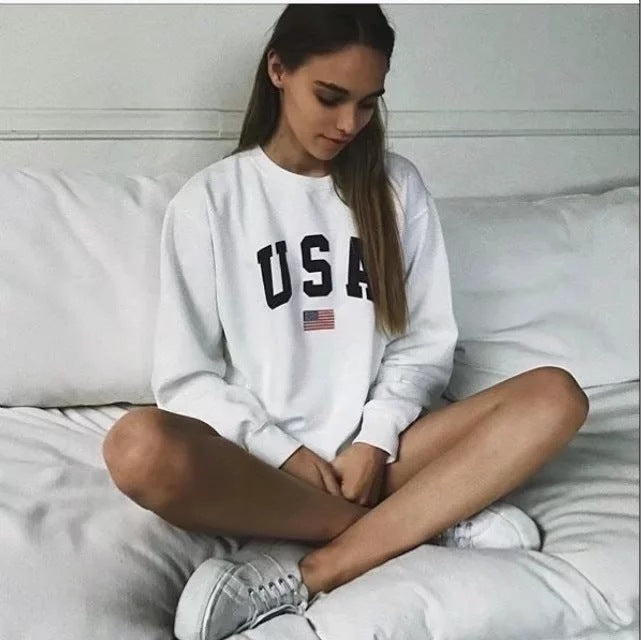 USA LONG SLEEVE JUMPER