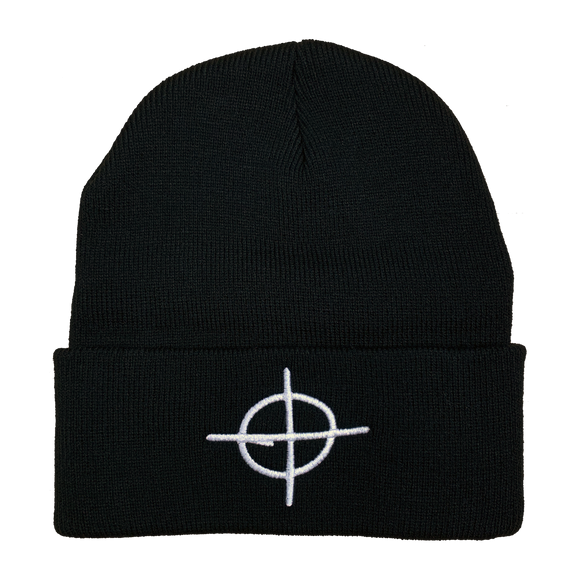 Zodiac Killer Embroidered Beanie - UNMASKED Horror & Punk Patches and Decor