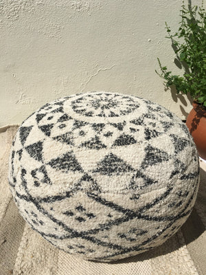 Moroccan Floor Cushions, Pouffes and Throws