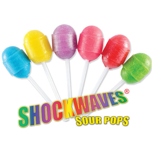 Shockwave Sour Pops