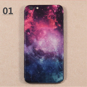 Hot!! personality design Skins Protective Film Wrap Cellphone back paste Protective Sticker For iphone 6 6s 6plus 6splus 7 7plus