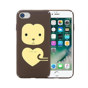 Mobile Protection Shell for IPhone 7/8 Cellphone Case Perfect Touch Hard Fashion Protective Cover