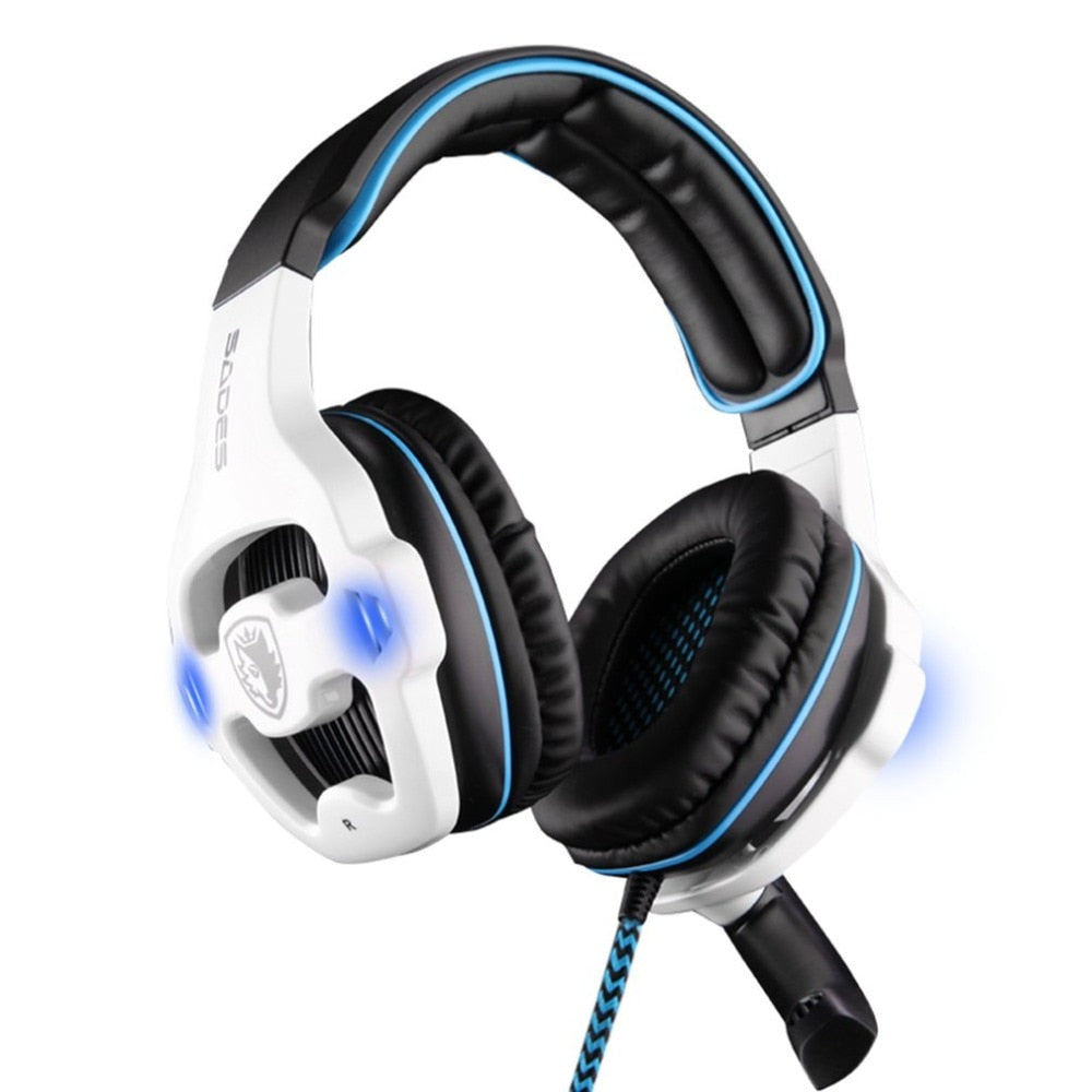"The ""Omni's"" 7.1 Channel USB Headphone Set"