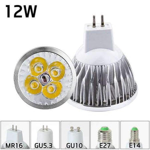 Led Bulb Spotlight MR16 GU10 Light E27 E14 Spot Lamp 2835 SMD Lampada GU5.3 220V 110V 12V 3W COB bulb 9W 12W 15W For Home Decor