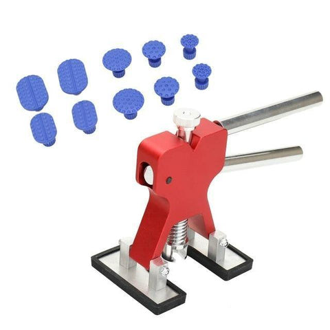 Image of Planet Gates China / 10 PCS Red Car Body Paintless Dent Lifter Repair Tool Puller +18 Tabs Hail Removal Tool for bmw e46 e90 ford focus 2 volkswagen mazda jetta