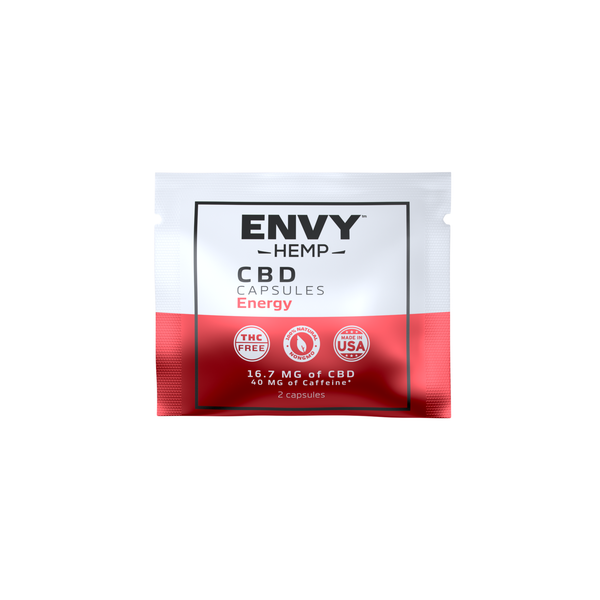 FREE 1 WEEK SUPPLY - CBD Capsule Sampler Pack -CBD Envy Hemp