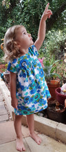 Load image into Gallery viewer, Blue Bronte Dress Cotton