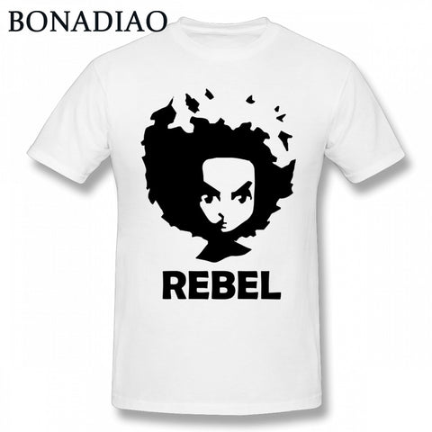 Boondocks RILEY Cartoon Rebel Tee
