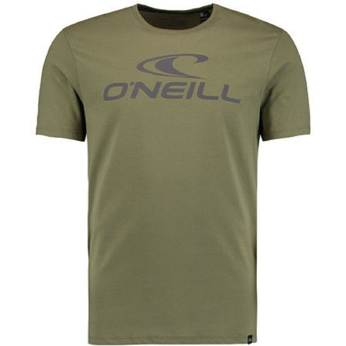 O'Neill Mens Jacks Logo T Shirt in Winter Moss