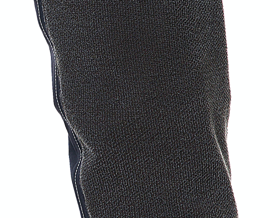 Kevlar reinforcement in knee and crotch