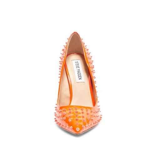 DAISIE STUD ORANGE NEON
