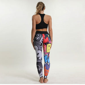 fitness Pants Print leggings
