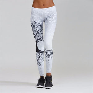 Fitness Print Leggings