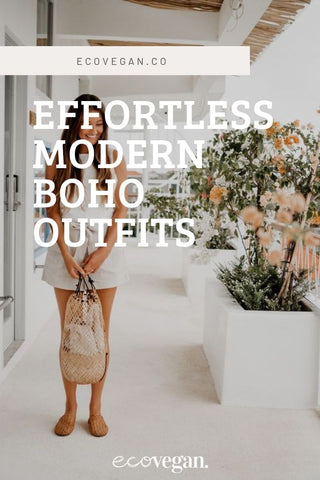 Effortless Modern Boho Outfits