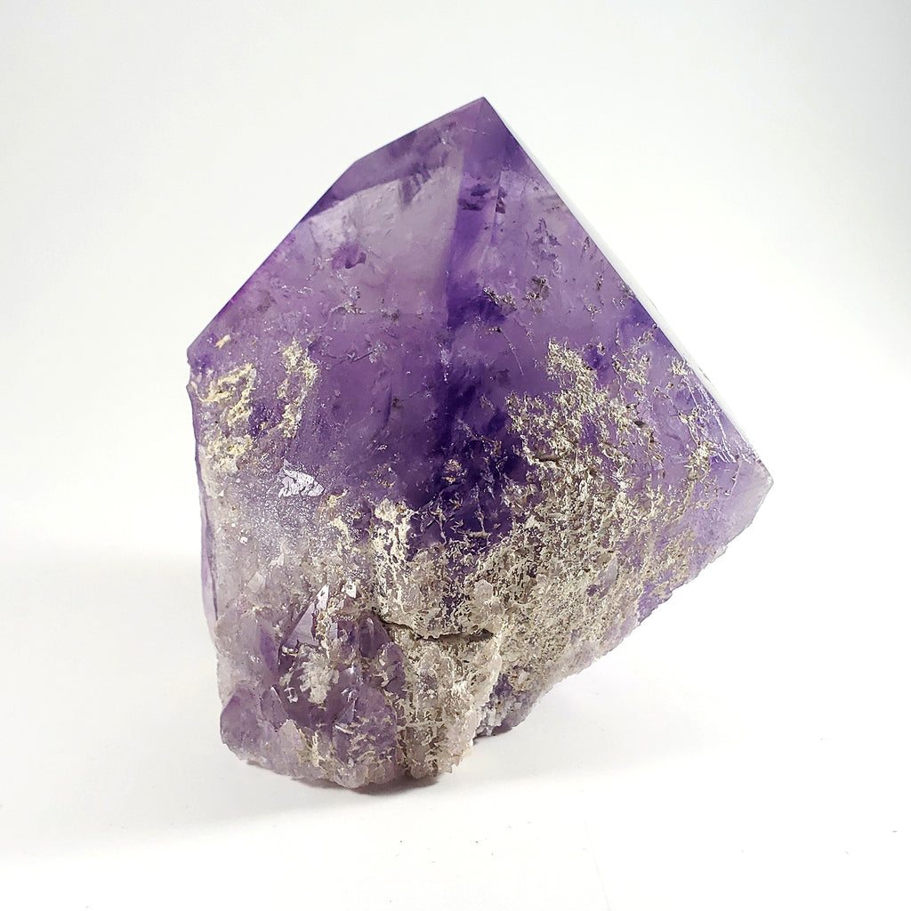 Free Standing Polished Amethyst Point from Bolivia