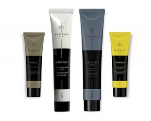 Marram Co. The Work Hard Shave Cream Collection