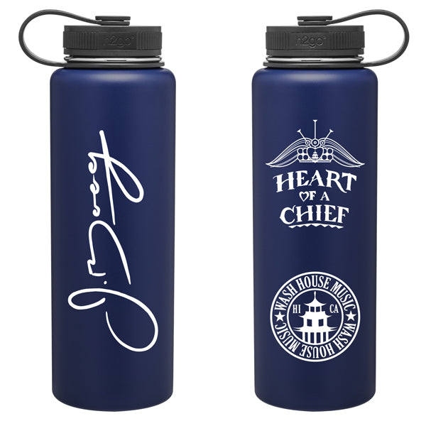 Blue Insulated Flask