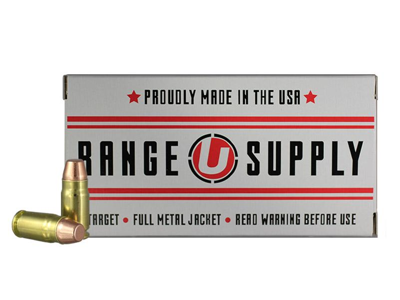 Range Supply 357 Sig 124 Grain Full Metal Jacket