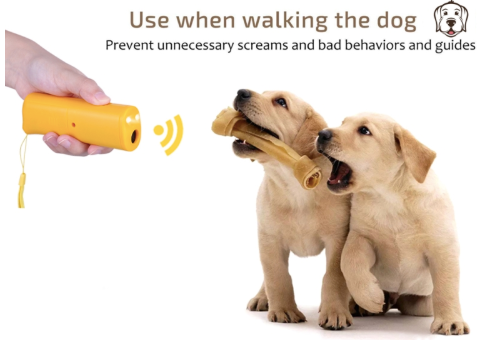 LED Ultrasonic Anti Barking Gadget for Dogs