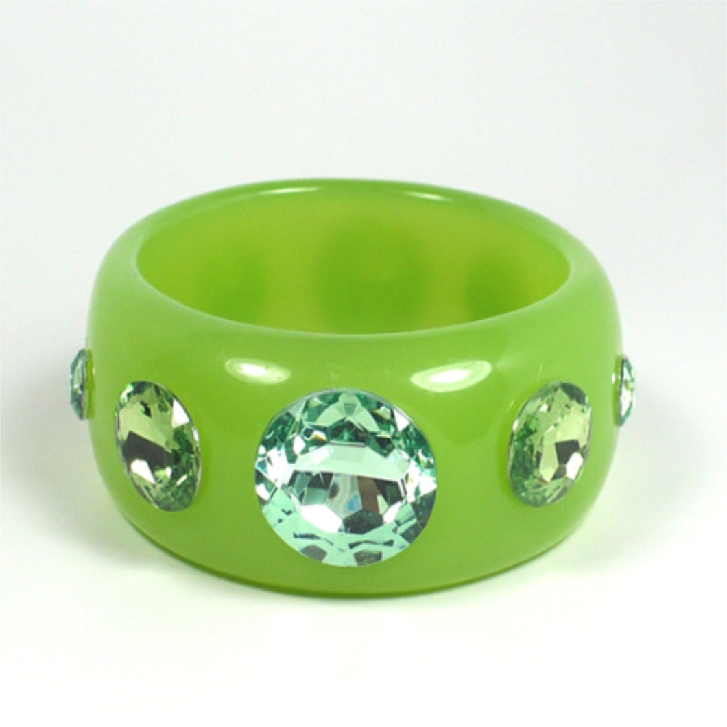 Green Statement Bracelet