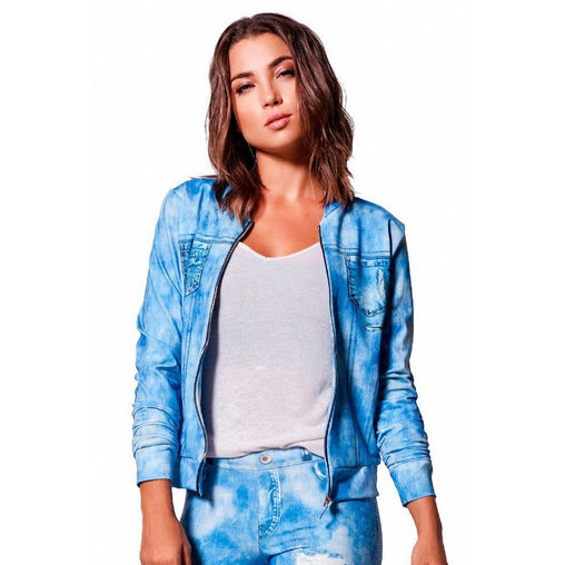 Relaxed Print Jacket