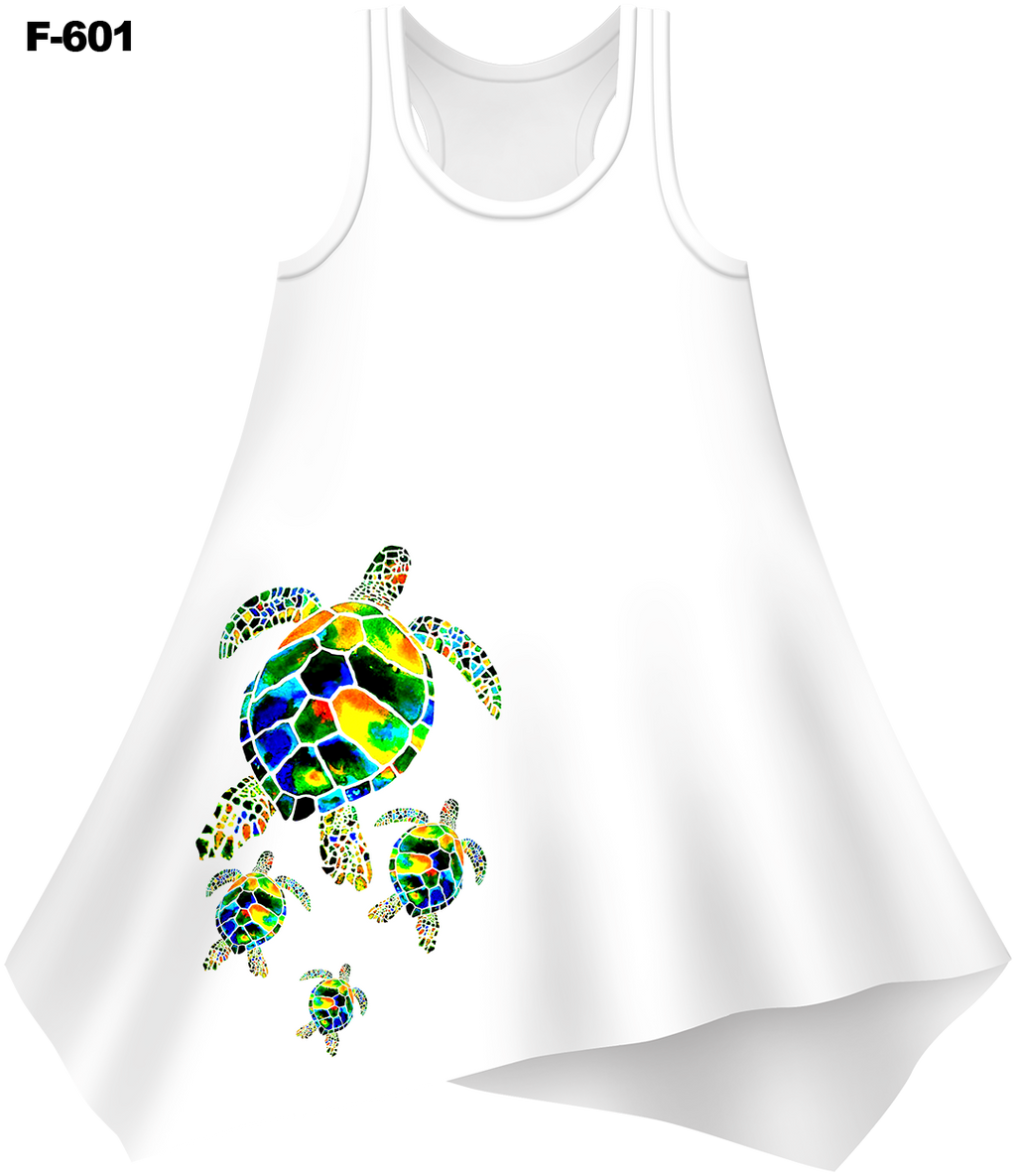 Mama Turtle Cover-Up Dress (Ladies) - - Ladies Tees | No Sleeves