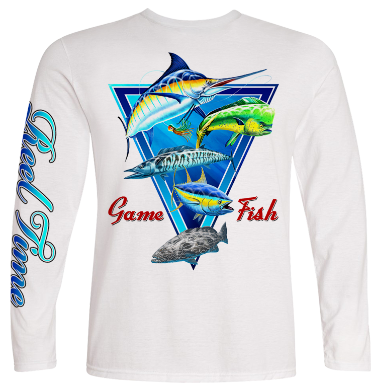Game Fish (Kids) - - Kids Tees | Long Sleeves
